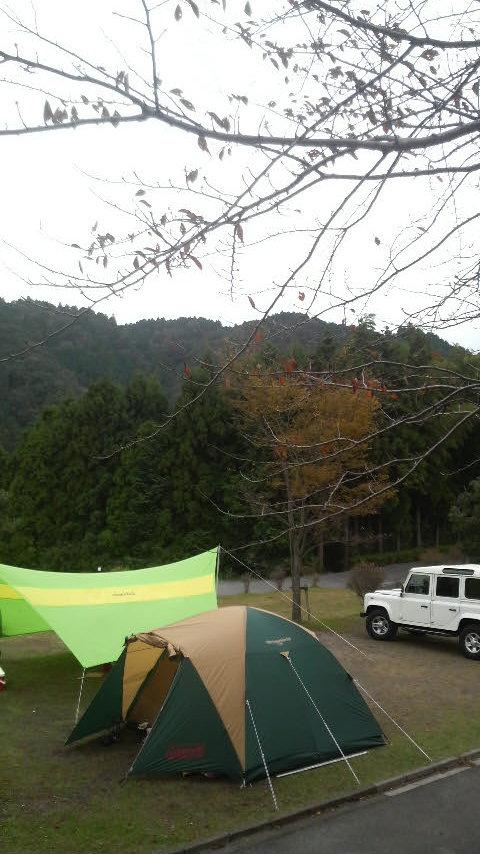 キャンプ、関ヶ原