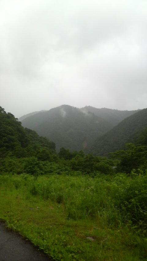 能郷白山入口