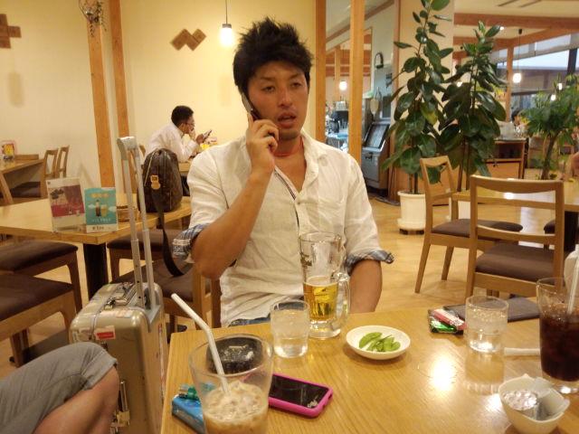 空港でカフェ!?