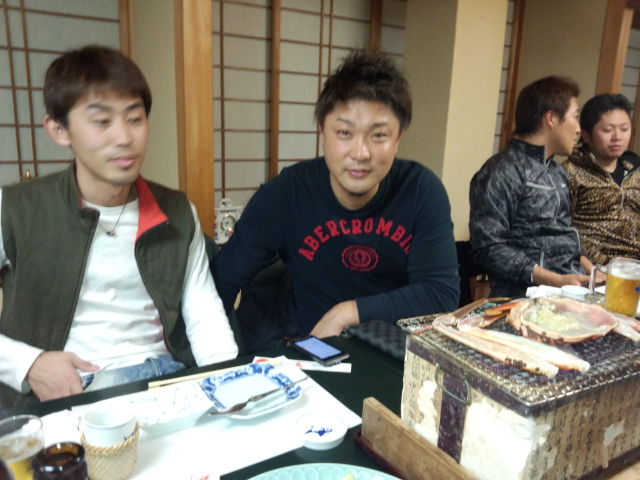 志智さん、記念優勝で宴!